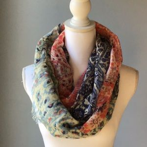 Maurices Patterned Infinity Scarf